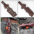 Mk II TBS Boar Bushcraft Knife - Turkish Walnut - Multi Carry Sheath